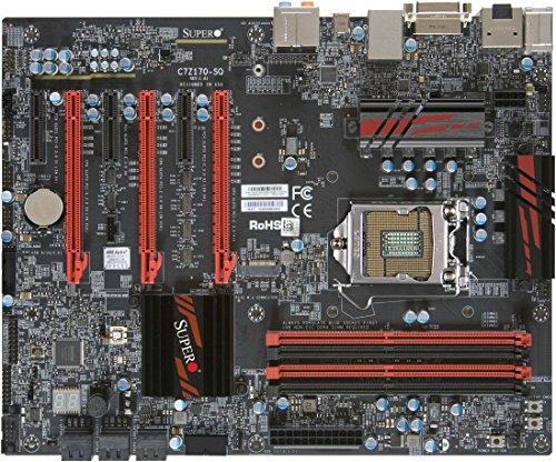 Supermicro C7Z170-SQ Intel® Z170 LGA 1151 (Presa H4) ATX