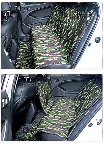 Pet Carrier Reisesitz Hund Welpen Vorne Auto Seat Protector Auto Sicherheit Mat Wasserdichte Haustier Auto Vordersitzbezug (Farbe : Camo)