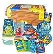Tinti Coffre de bain pour les Enfants - Pack de 18 produits