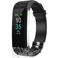 LEBEXY Fitness Armband Schrittzähler, Fitness Tracker mit Herzfrequenzmesser Blutdruckmessung Pulsuhr Kalorienzähler…