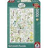 """Schmidt Spiele Puzzle 59568 - Puzzle Countryside Art, 1000 Teile, """"Blumen und Pflanzen"""""""