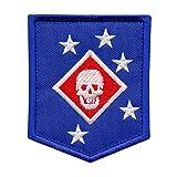 USMC Raiders Marines MARSOC Morale Taktisch Tactical Stickerei Touch Fastener Aufnäher Patch