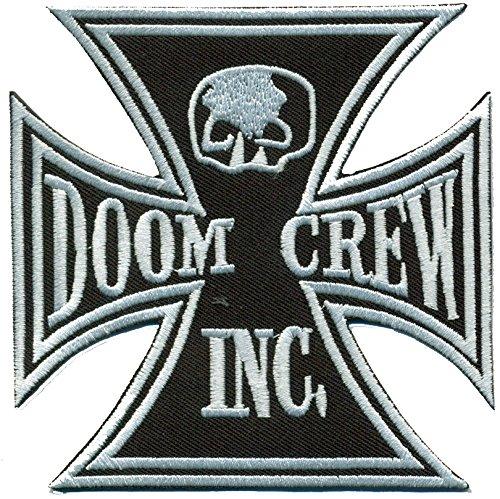 doom-crew-skull-iron-cross-bls-black-label-society-motorbike-iron-on-patch-badge
