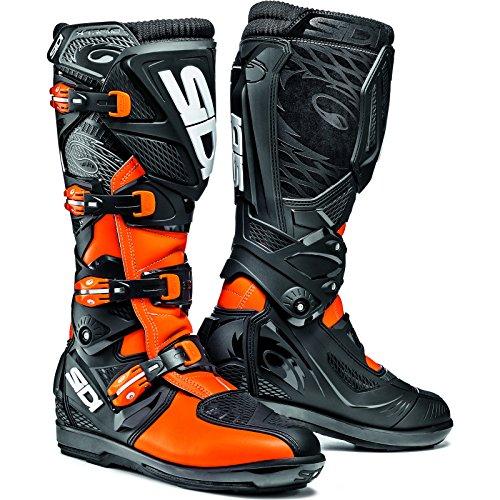 Sidi Xtreme SRS Motocross Boots 42 Orange Fluo/Black (UK 8)