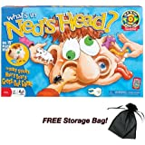 What 's in Ned 's Head Game With Free Storage Bag by POOF Slinky