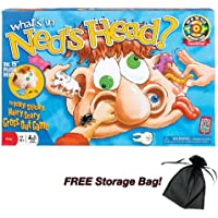 What's in Ned's Head Game with Free Storage Bag by Poof Slinky