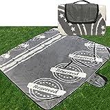 Picknickdecke von JEMIDI Riesen Picknick Decke XXL...