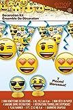 Unique Party Emoji Addobbi per Feste, Confezione da 7Pezzi