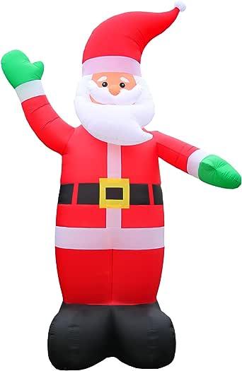 Amazon.de: 6 Meter Grosser XXL Airblown Weihnachtsmann