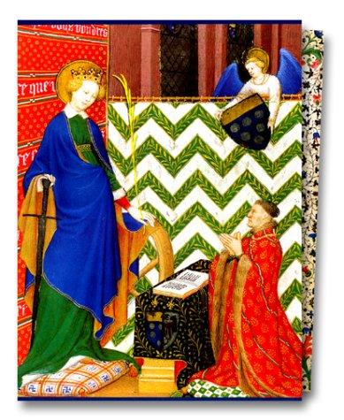 L'âge d'or du manuscrit : la peinture en France au temps de Charles VI et les heures du mal de Boucicaut
