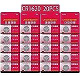 20 Stück CR1620 3V Lithium Knopfzelle Elektro CR 1620 Lithium Batterie