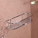 XGMSD Edelstahlkorb Bad-Accessoires Regale Doppel Stativ Quadratische Runde Platte Korb Handtuchhalter Bad Rack Handtuchhalter Ecke Korb