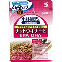 Kobayashi Pharmaceutical Supplement - Nattokinase DHA EPA - 30grain