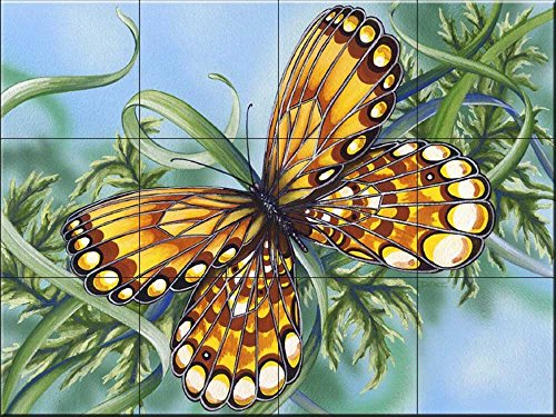 Bernstein Butter (Fliesenwandbild - Bernstein Flügel addieren von Denise Freeman - Küche Aufkantung / Bad Dusche)