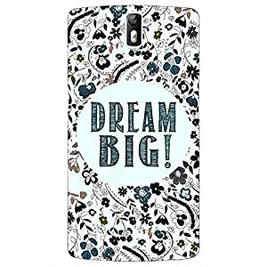 Jugaaduu Dream Quote Back Cover Case For OnePlus One