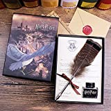 Harry Potter Geschenkbox Schreibset Feder mit Tintenfass