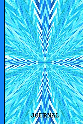 Journal: Burst Of Blue Colors, Graph Journal Notebook Planner 4x4 Quad Ruled Graph Paper, 100 Pages  (6