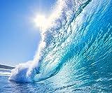 Fototapete Wandbild Tapete WELLE 300x250cm Meer Ozean Wand Dekoration Auflkeber