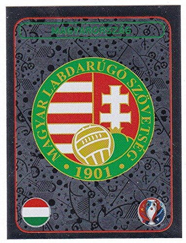 Panini EURO 2016 France - Sticker #576 (Ungarn, Wappen)
