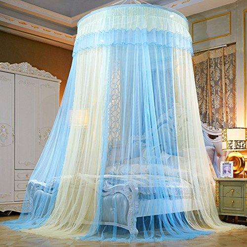 Somedays #1 Das beste Moskitonetz – Das größte Doppelbett Moskitonetz Baldachin – Insekten Malaria Schutz,Bunte Farbe (B)