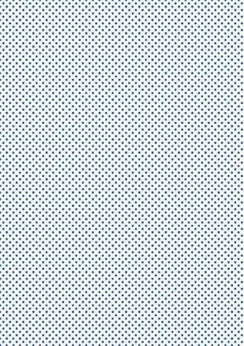 Clairefontaine 456691C Decorativ 'Paket von 25Blatt A4Format 21x 29,7cm, Motiv Shibori 2zufällige Farbauswahl, blau