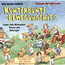 Kunterbunte Bewegungshits: Playback-CD