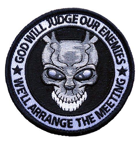 Hook Fastener Special Forces Punisher Donnie Darko Alien Frank Spoof ODA Navy Patch Taktish Klettband Aufnäher Von Titan One - Forces Punisher Special