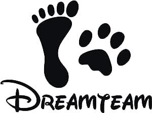Kleb Drauf Dreamteam Verschiedene Größen Und Farben Wandtattoo Wandaufkleber Wandsticker Aufkleber Sticker Wohnzimmer Schlafzimmer Kinderzimmer Küche Bad Küche Haushalt