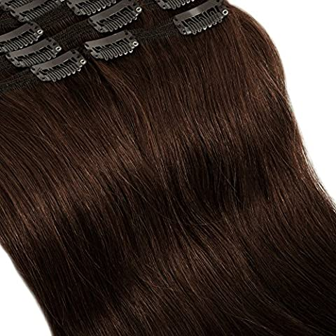 Deluxe Double Weft 8 Pieces Full Head Remy Human Hair