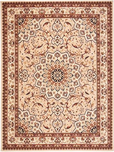 Carpeto rugs tappeto 120 x 170 cm beige orientale classico verona collezione