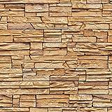 rasch factory stein optik mauer vlies tapete sand beige. Black Bedroom Furniture Sets. Home Design Ideas