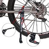 Fahrradständer, Faltbarer Fahrrad Seitenständer Einstellbarer Universal Fahrrad Ständer mit Anti-Rutsch Gummi Fuß Rennrad, Faltrad ,Fahrräder, Mountainbike Ständer