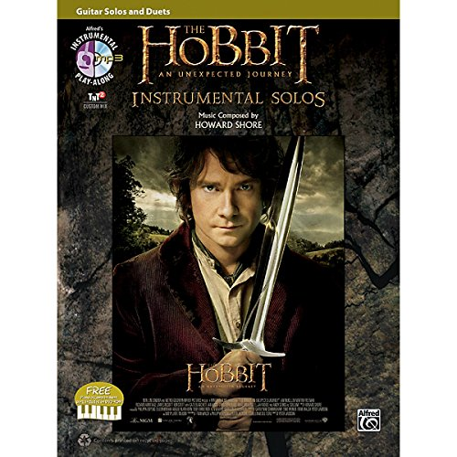 The Hobbit: An Unexpected Journey - Instrumental Solos (Guitar Solos And Duets). Partituras, DVD-Rom para Guitarra, Acorde de Guitarra