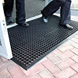 Best Anti Fatigue Mats - Large Outdoor Rubber Entrance Mats Anti Slip Drainage Review