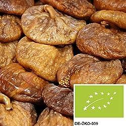 1kg getrocknete Bio Feigen ohne Zusätze - NEUE ERNTE - naturbelassene Feigen in Bio Qualität als leckerer Energielieferant