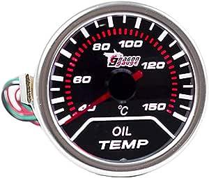 E Support Trade 2 52mm Led Auto Öltemperatur Anzeige Öl Oil Anzeige Instrument Gauge Meter Auto