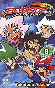 Beyblade Metal Fusion / Masters / Fury Edition simple Tome 9