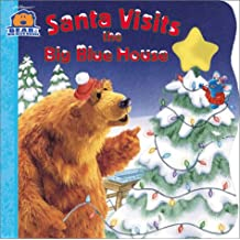 Santa Visits the Big Blue House (Bear in the Big Blue House (Board Books Simon & Shuster))