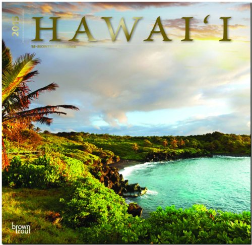 Hawaii 2015: Original BrownTrout-Kalender [Mehrsprachig] [Kalender]