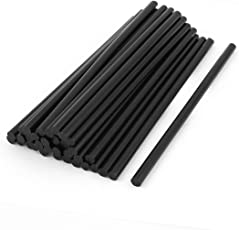 THEMISTO - built with passion Black Hot Melt Glue Stick Pack of (10 PC)