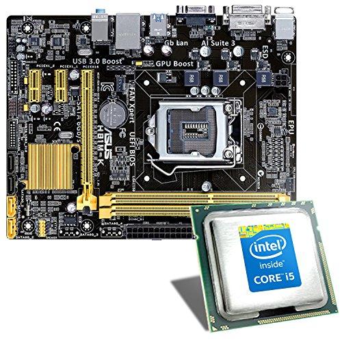 Intel Core i5-4460 / ASUS H81M-K Mainboard Bundle - Multimedia QuadCore! Intel Core i5-4460 4x 3200 MHz, Intel HD Graphics 4600, GigLAN, 7.1 Sound, USB 3.1