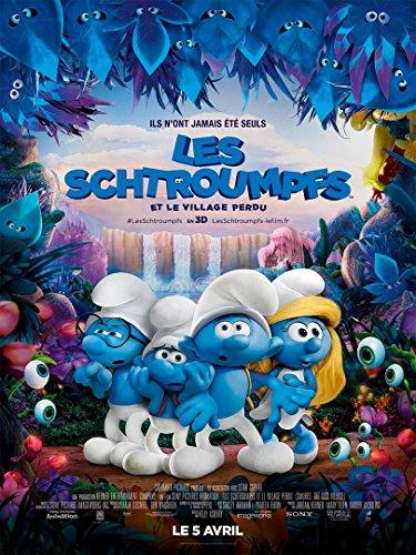 affiche-cinema-originale-grand-format-les-schtroumpfs-et-le-village-perdu-format-120-x-160-cm-pliee-