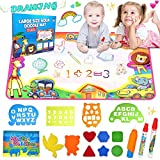 Best Cadeau For A 2 ans de - MOONBROOK Magic Doodle Mat - Jouets pour Enfants Review