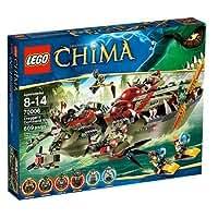 Lego Legends of Chima 70006 - Craggers Croc-Boot Zentrale