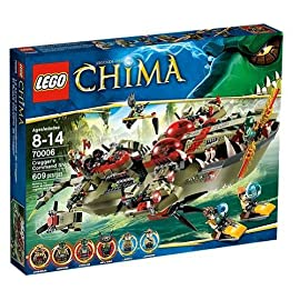 Lego Legends of Chima 70006 Craggers Croc Boot Zentrale