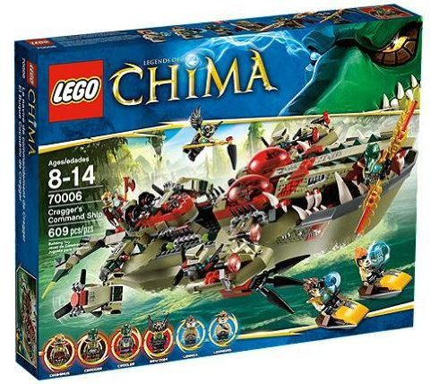 LEGO-Legends-of-Chima-70006-Craggers-Command-Ship
