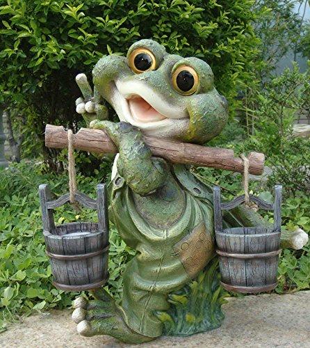 NEU 23 cm hoch! 3 witzige Gartenzwerge aus Metall Gartendeko