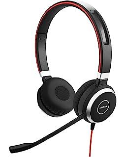 Jabra Evolve 40 MS Ove  Ear Stereo Headphones with mic