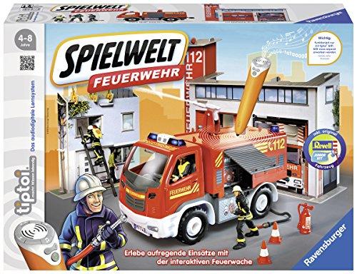 Ravensburger 00760 - tiptoi® Spielwelt Feuerwehr