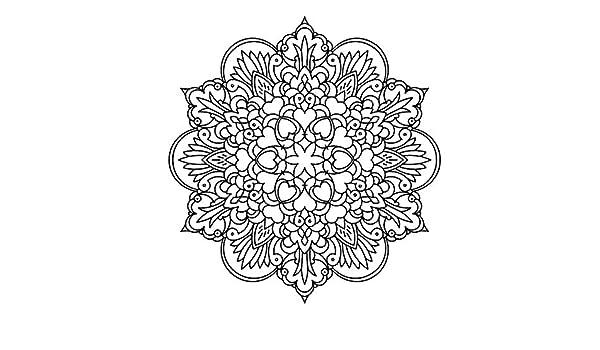 Mandala Hearts Flowers Reusable Stencil A3 A4 A5 /& Bigger Sizes Wall Decor PVC Reusable Stencil, A3 Size - 297 x 420 mm, 11.7 x 16.5 in M10